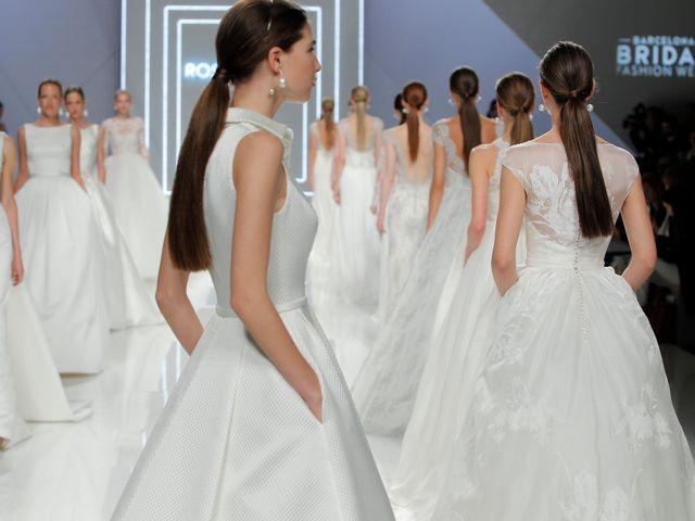 Vestidos de novia 2017 de Rosa Clará, esperado comienzo de la BBFW