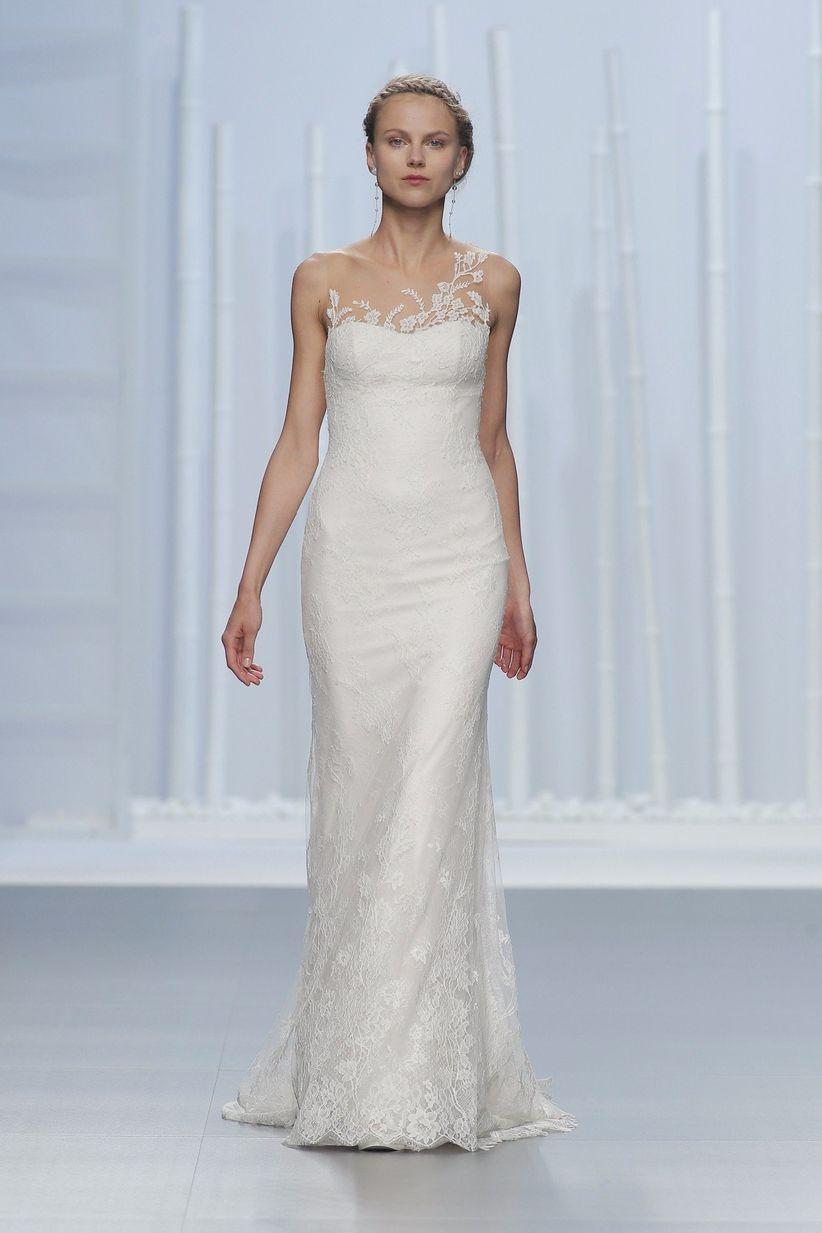 10 vestidos de novia que te harán parecer más alta