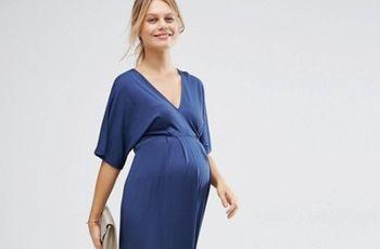 Look de invitada embarazada en verano