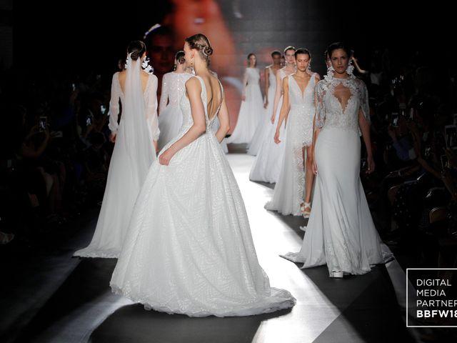 Vestidos de novia 2019 de Rosa Clará en la Barcelona Bridal Fashion Week