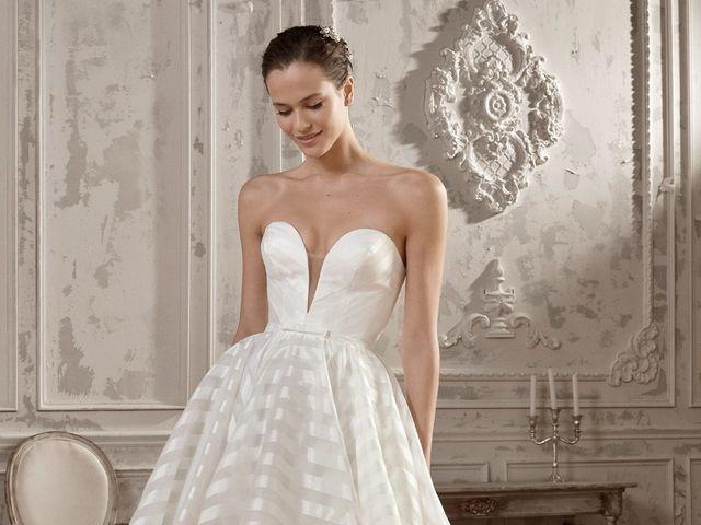 10 tendencias en vestidos de novia que tienes que ver si te casas el 2019