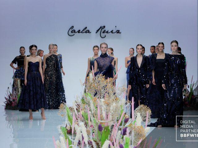 Vestidos de fiesta 2019 de Carla Ruiz en la Barcelona Bridal Fashion Week