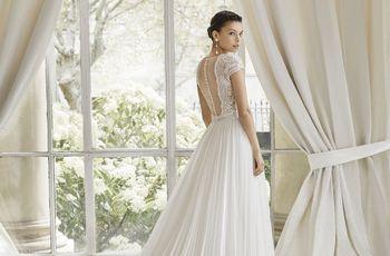 Descubre las tres líneas de vestidos de novia 2019 de Rosa Clará y sus sorprendentes detalles