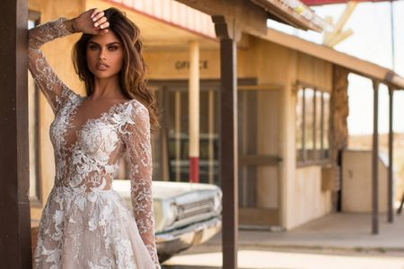 Vestidos de novia 2019 de Milla Nova con detalles de alto impacto