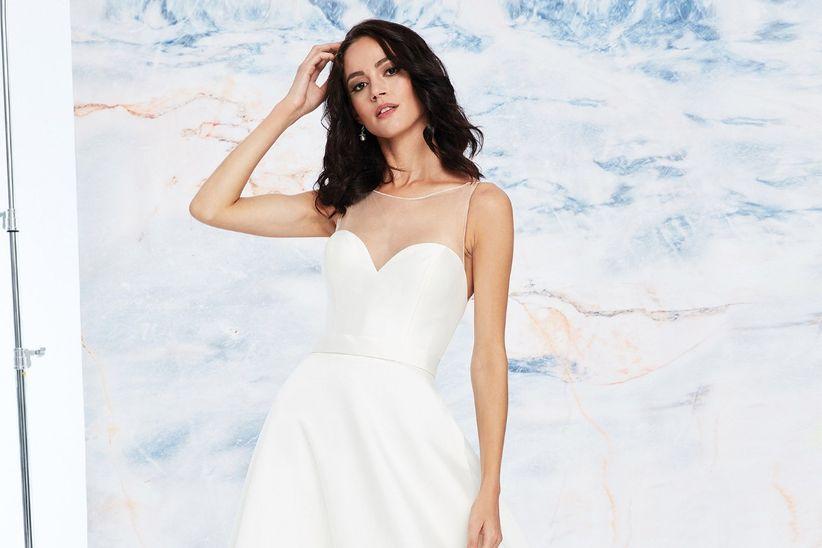 e778c7616a Descubre los sofisticados vestidos de novia 2019 de Justin Alexander ...