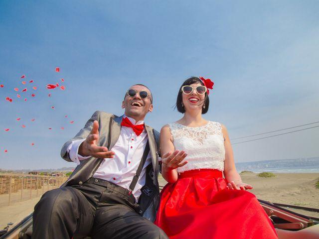 """El matrimonio de Beth y Felipe: un """"sí, quiero"""" retro-campestre"""