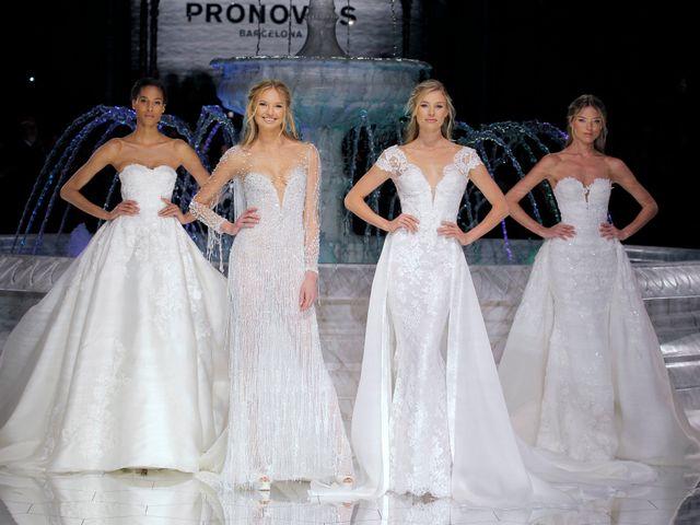 La Barcelona Bridal Fashion Week 2017 se despidió con espectacular desfile de Pronovias