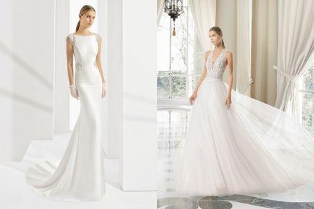30 vestidos de novia que te harán parecer más alta