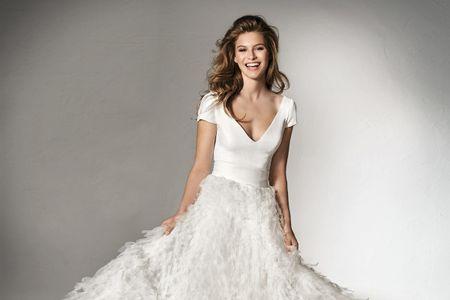 65 Vestidos de novia de dos piezas: ¡Encuentra tu perfect match!