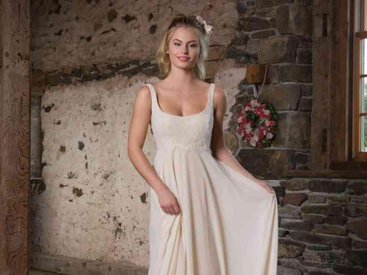 25 Vestidos De Novia Con Corte Imperio Aires Románticos Y