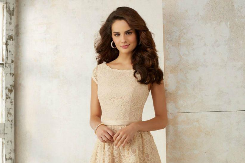 Vestidos para la ceremonia civil: 30 modelos de novia y fiesta