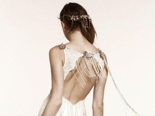 35 vestidos de novia sin espalda espectaculares