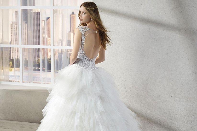 40 vestidos de novia estilo princesa para impactar con tu look nupcial