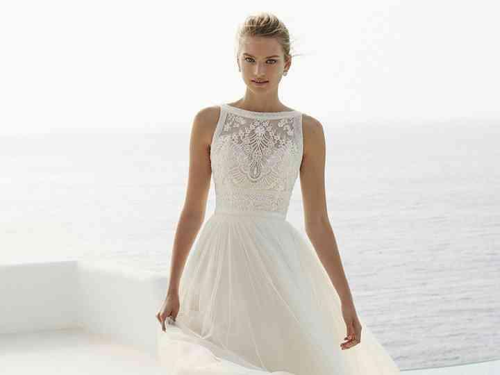 entrega gratis últimos lanzamientos aliexpress 50 vestidos de novia con escote ilusión: ¡Para enamorarse!