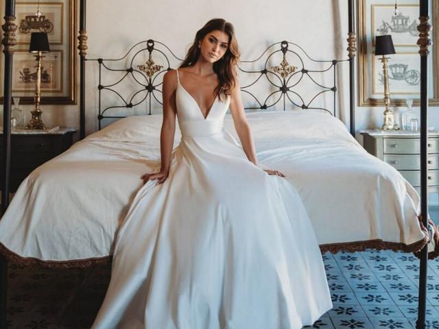 Vestidos de novia Allure Bridals para novias 2021