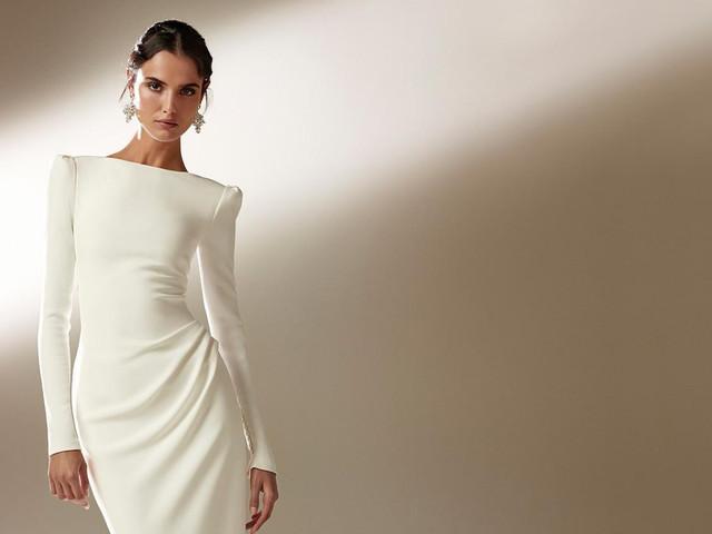 Vestidos de novia con mangas: 15 estilos para elegir