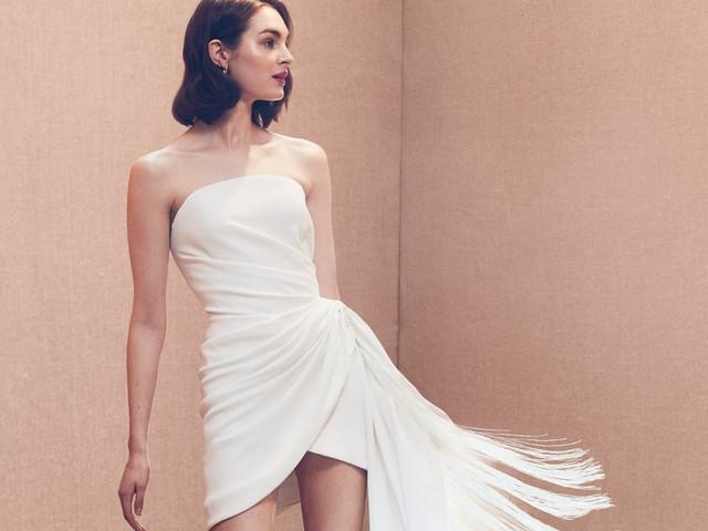 ¿Por qué usar un vestido de novia corto?