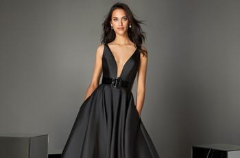 60 vestidos de fiesta negros: un clásico que se renueva