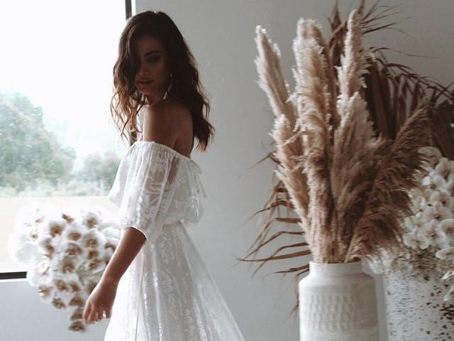 Vestidos de novia largos para el civil: 45 modelos de inspiración