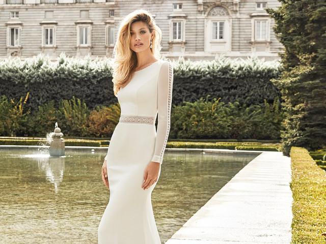Inspírate con los vestidos de novia de Aire Barcelona 2020