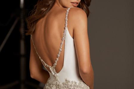 50 vestidos de novia sin espalda de alto impacto