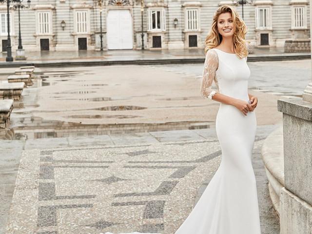 70 vestidos de novia con manga de tres cuartos: ¿te inclinas por alguno?