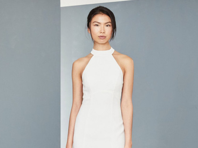 25 'Little White Dresses' para una boda civil íntima y llena de estilo