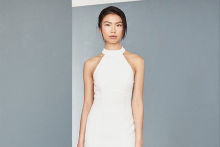 25 'Little White Dresses' para una boda civil íntima y llena de estilo