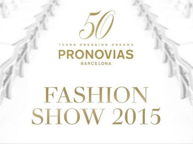 Desfie Pronovias 2015 en directo
