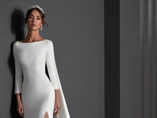 60 vestidos de novia con escote barco: elegancia como protagonista