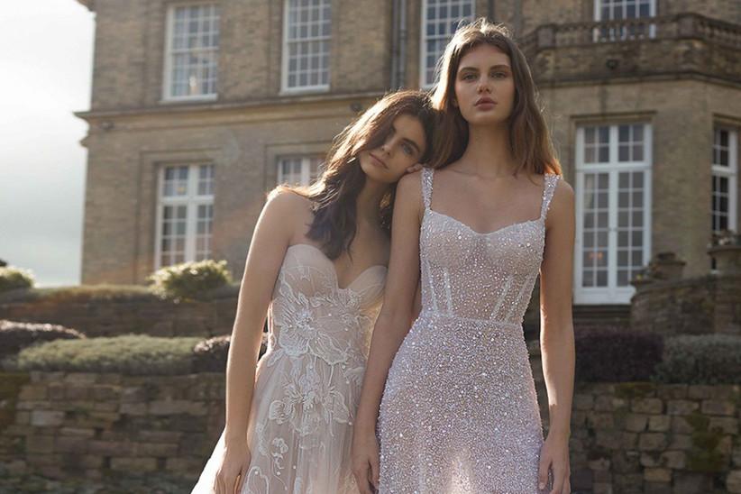 Vestidos de novia escote corazón Galia Lahav