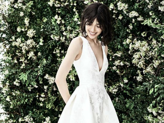 Carolina Herrera enamora con sus elegantes vestidos de novia 2020
