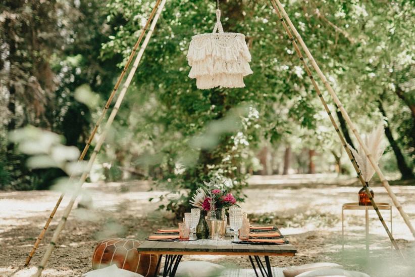 Weddings and lights