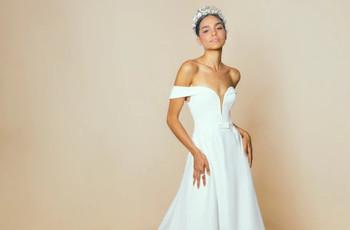 Conoce los vestidos de novia de Neta Dover 2021