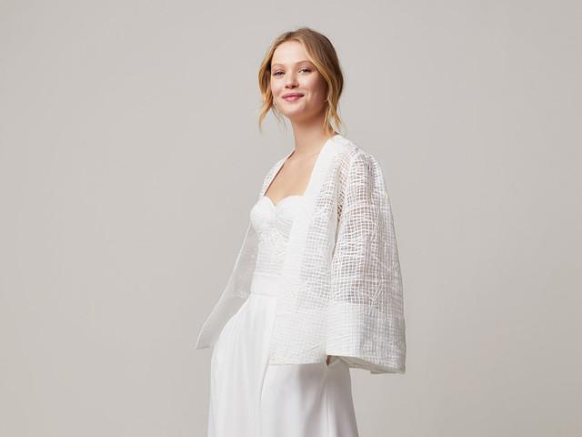 """75 vestidos de novia largos para el civil tan bonitos como modernos para decir """"sí, quiero"""""""