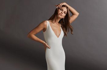 90 vestidos de novia sencillos para deslumbrar en tu gran día