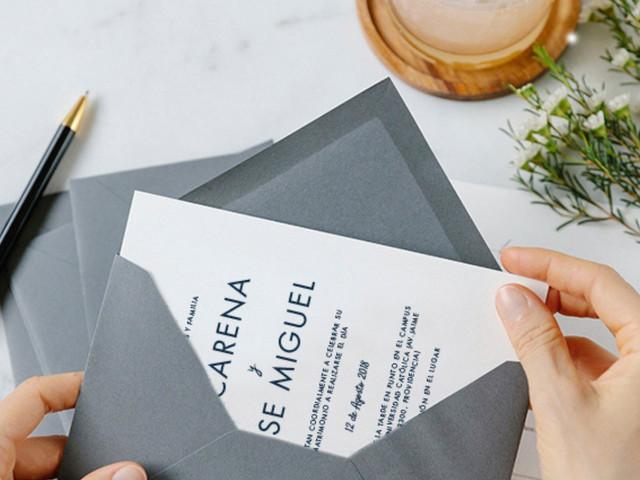 Qué escribir en los sobres de las invitaciones