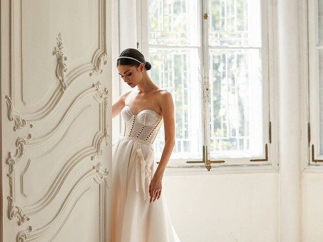 50 vestidos de novias con corsé: un clásico renovado y muy sensual