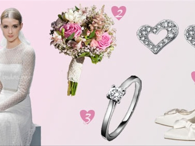 Look de novia Romantic & Sweet