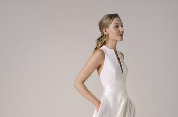 100 vestidos de novia sencillos y elegantes: la combinación perfecta para caminar al altar