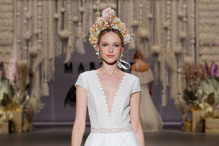 Accesorios que marcaron tendencia en la Bridal Fashion Week 2019