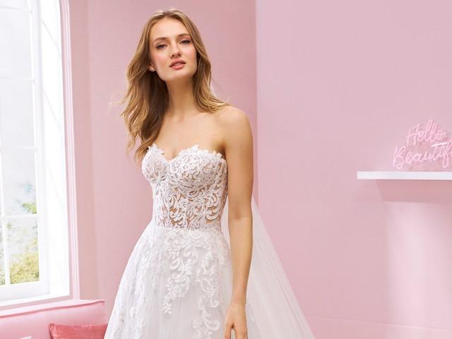 Descubre la versatilidad de los vestidos de novia 2020 de White One