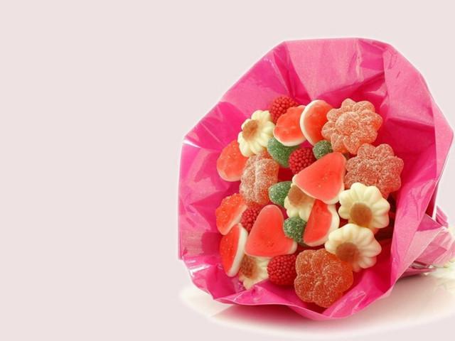 DIY: ramos de gomitas dulces para regalar