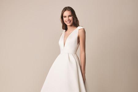 Jesús Peiró 2020: vestidos de novia clásicos que se renuevan