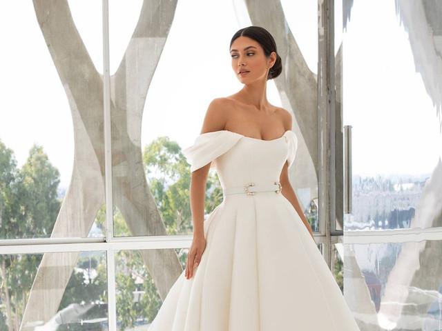Cinturones para vestidos de novia: un accesorio estrella