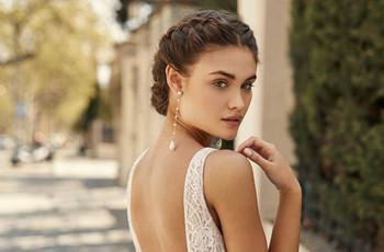 Tendencias en peinados de novia 2020: ¿pelo suelto o recogido?