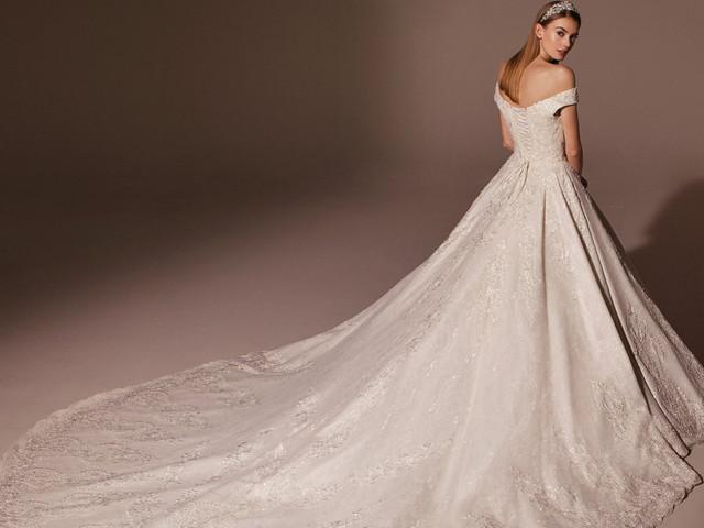 130 vestidos de novia con colas increíbles