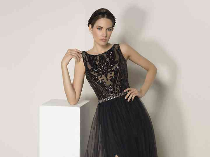 La Elegancia Del Encaje Llega Con Los Vestidos De Fiesta De