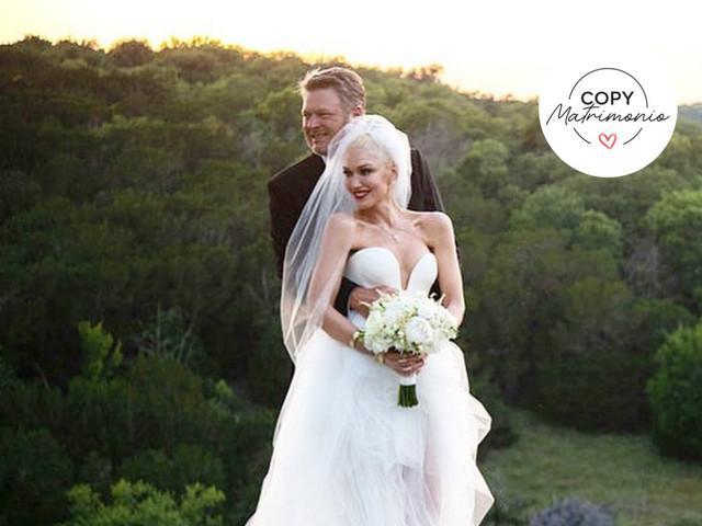 Copy matrimonio: la ceremonia secreta y llena de simbolismos de Gwen Stefani y Blake Shelton
