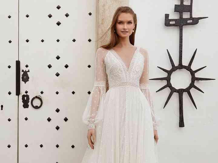 50 Vestidos De Novia Hippie Chic Belleza Natural